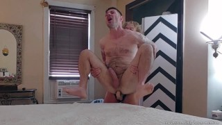 SEXY SENSUAL PEGGING Lift Carry PASSIONATE SEX- REAL SEX FOREPLAY- STRAPON SUCK FaceSitting BLOWJOB
