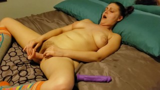 Start with my toy and finish with a cream filled ass (Part 1)