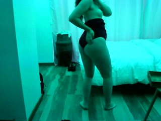 A weekend story – Hot wife does a striptease dance(Chapter II of IV)