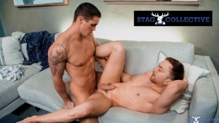 Amateur Ginger Can't Wait To Get Nick Clay's Big Dick Inside Him - StagCollective