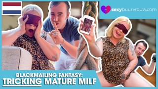 HOW I FUCK THE WIFE FROM MY BOSS: FOXXY ANGEL (Netherlands Porn): SESXYBUURVROUW