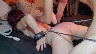 Slut Loves to be Tied Down and Fucked Hard