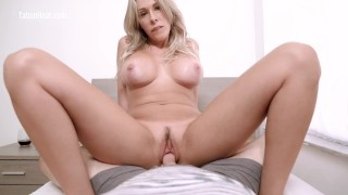 Screen Capture of Video Titled: My Widowed Stepmom Is Lonely & Wants To Fuck - TabooHeat