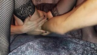 Fisting cipkę suczki
