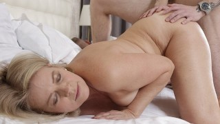 SHAME4K. Older seductress didnt expect the stud to be so good in bed
