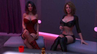 Thirsty For My Guest.Step-Mother And Step-Daughter In A Strip Club-Ep30
