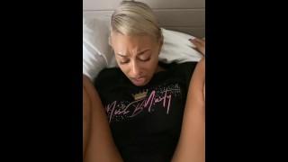 MissBNasty likes it deep in her asshole