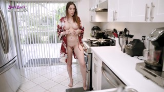 New Step Mom with Huge Tits Introduces Me to Free-Use - Amiee Cambridge