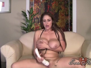Busty Eva Notty Is Near Climax While Stimulating Her Pussy