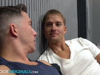 """""""Teach Me How To Eat Ass"""" Roommate Gives Sex Lessons To Brandon Anderson – NextDoorStudios"""