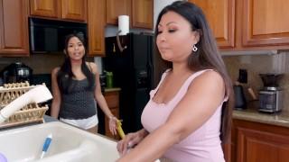 Step Daughter Seduces Step Mom