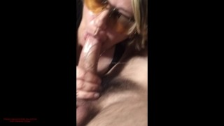 Italiano And cougar milf first blowjob stepmom stepson summer vacation cumshot swallow