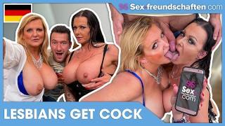 LESBIANS GETTING TOYBOY DICK: Julia Exklusiv & Krizzy (German Porn) - SEX-FREUNDSCHAFTEN