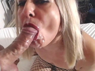 Hardcore anal, squirting and cum on face, live cam session on 25August21