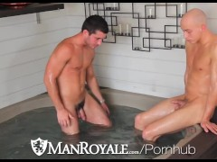 ManRoyale Hot Guys Have Wild Fuck Party