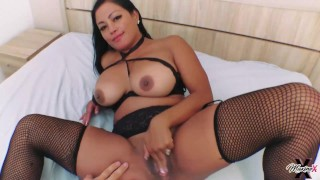 Squirting Asian Cougar Maxine X Finger Fucked And Drilled!