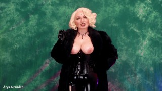 Latex and Fur: Smoking FemDom JOI Game. Jerk Off Instructions by Arya Grander. Free Porn Video.