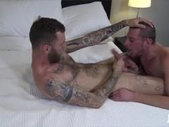 RawFuckBoys - Tattooed Ryan Powers is hard raw-fucked in Atlanta hotel