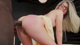 BANGBROS - Blondes Stuffed With Big Black Cock: A Compilation