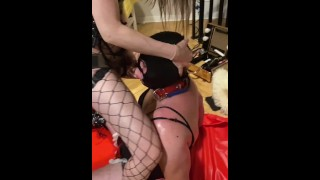 Cocksucker deepthroat training- full clip on my Onlyfans (link in bio)