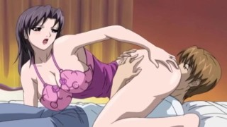 Mom Fucks Her Step Son While Her Husband Rests | Uncensored Hentai