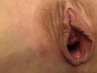 POV Fit Amateur Milf Opens Her Pussy And Begs For Cock And Creampie. Her Pussy Always Wants More.