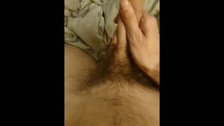 POV quick wank in bed