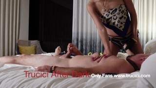 Sexy Asian Only Fans Babe Destroys Her Cuck's Tight Asshole