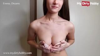 MyDirtyHobby - Horny Teen Emma Dreams Has Her First Mega Creampie