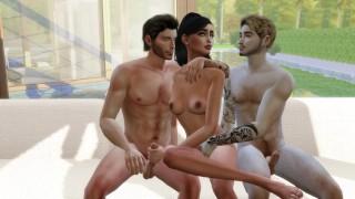 Kylie J Interracial Gangbang With Home Service Crew - 3D Hentai - PART 1