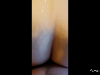PAWG gets her big ass prepped and fucked