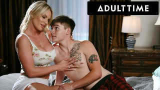 ADULT TIME - Rachael Cavalli Loses Her Contacts & Fucks Her Stepson By Accident!