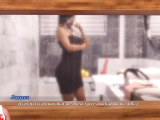 AMNESIA:Kinky Milf Under The Shower With Dildo-S2E13