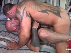 Worship daddy's uncut cock