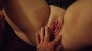 Wrecking her hole, hard fisting, hard orgasm