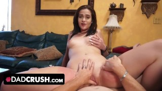Screen Capture of Video Titled: Teen Babe Peyton Robbie Changed StepDad's Pills And Gets Creampied