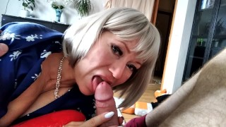 Husband trains wife in a virtual private chat & the next day he fucks his slut hard in reality!