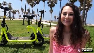 Real Teens - Girl Next Door Liz Jordan Does Her First Porn Casting