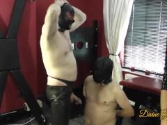 Cock Sucker Get Spunked On