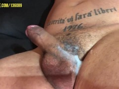 Beefy Personal Trainer Worshiped, Jerked Off and Tickled