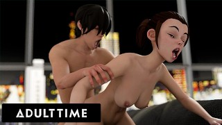 ADULT TIME - Hentai Sex University Prodigy Wants To Show His Stepsis Everything He's Learned