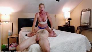 SENSUAL Blowjob SEXY AMATEUR MILF Facesitting FOREPLAY Romantic Very Hard DP PASSIONATE POUNDING!