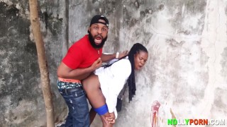 SEX WITH THE GHOST (Nollywood Movie Outdoor Sex Scene)