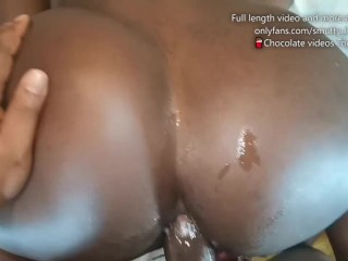 Gave my Girlfriend's Roommate a GOOD ASS POUNDING and She Loved it – EBONY ANAL FREAK