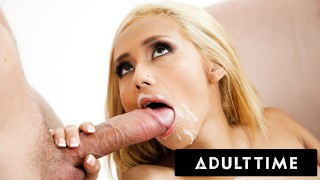 ADULT TIME - The BEST Cum Swallowing Babes COMPILATION! PLUS Deepthroating and MORE!
