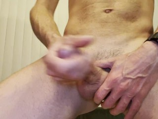 Cam crest stands up and cums in your face