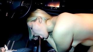 Blonde Babe Fucks Her Gear Shift