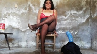 Recopilatorio destrucción anal extrema mamadas y meadas del culo travesti de muy puta Elizabeth
