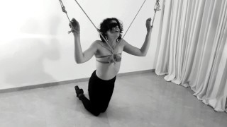 Sexy Submissive Wife Tits Bondage Predicament: Bdsmlovers91