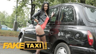 Fake Taxi - Mia Trejsi Starts Touching Herself And That Makes The Taxi Driver Stop And Fuck Her Hard